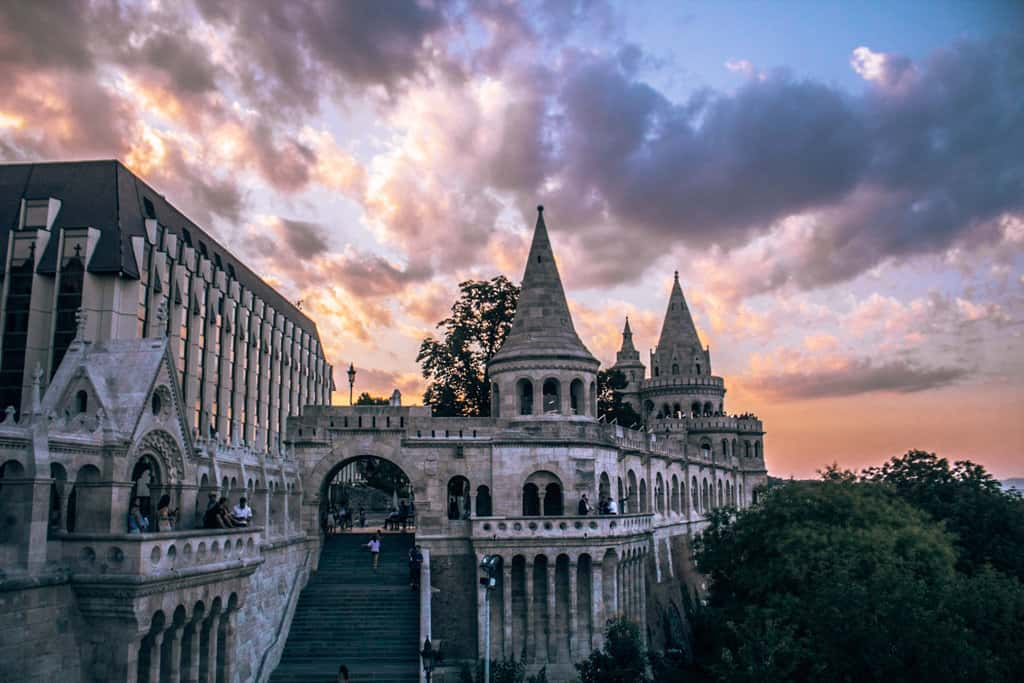 Sunset at Fisherman's Bastion