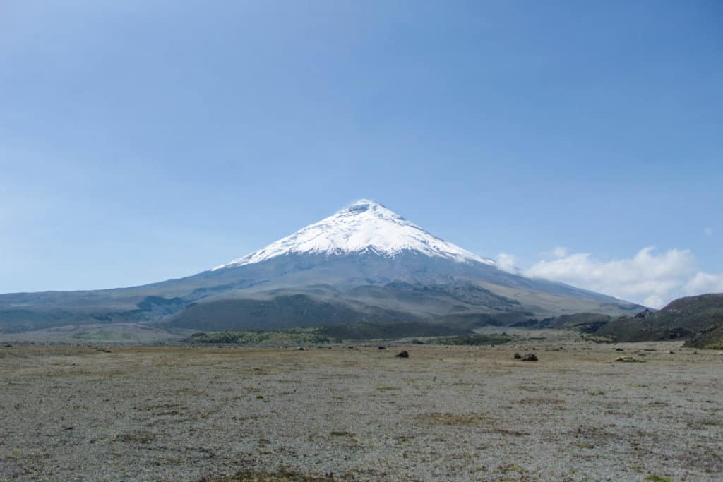 A Cotopaxi day trip led to clear views of Cotopaxi's peak