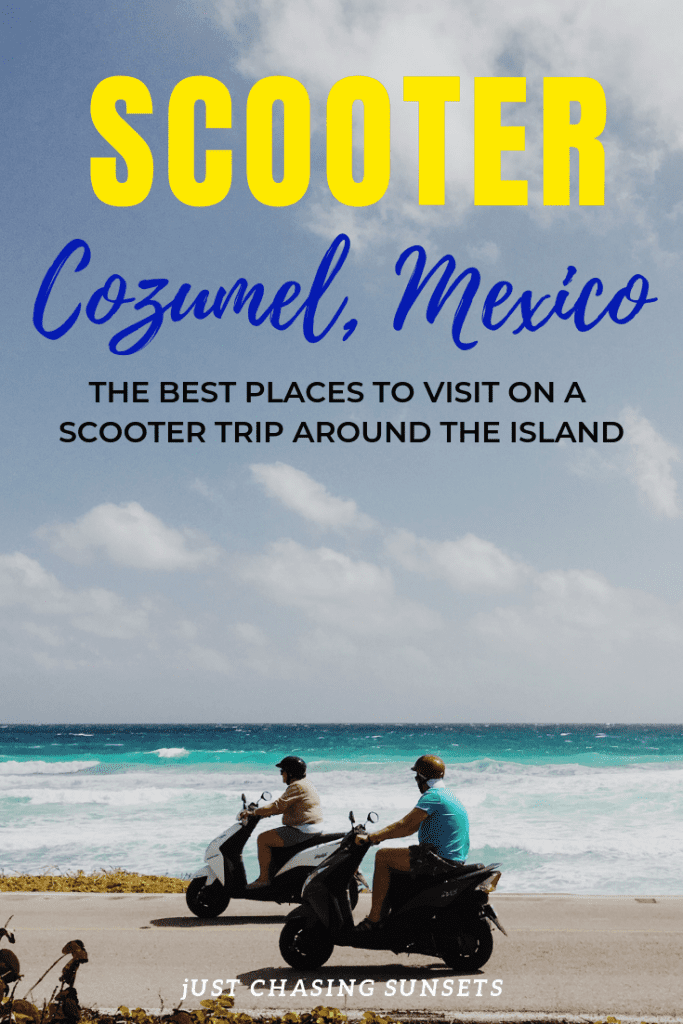 scooter Cozumel Mexico