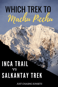 Which trek to Machu Picchu should you choose?