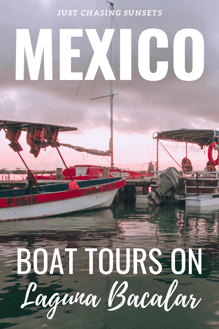 boat tours on laguna bacalar