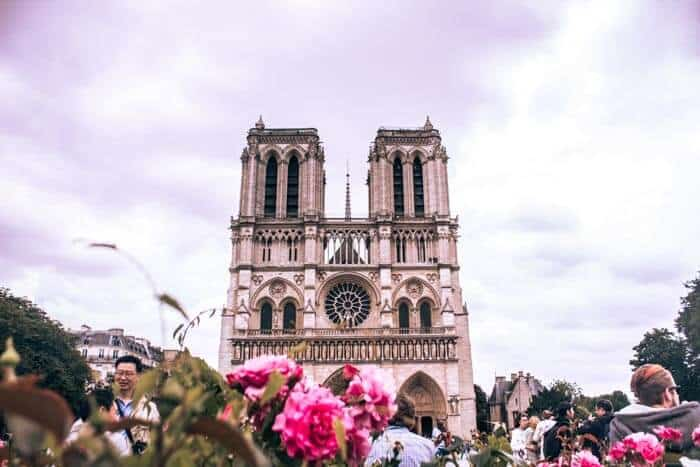 Visit Notre Dame Cathedral during your three days in Paris, France