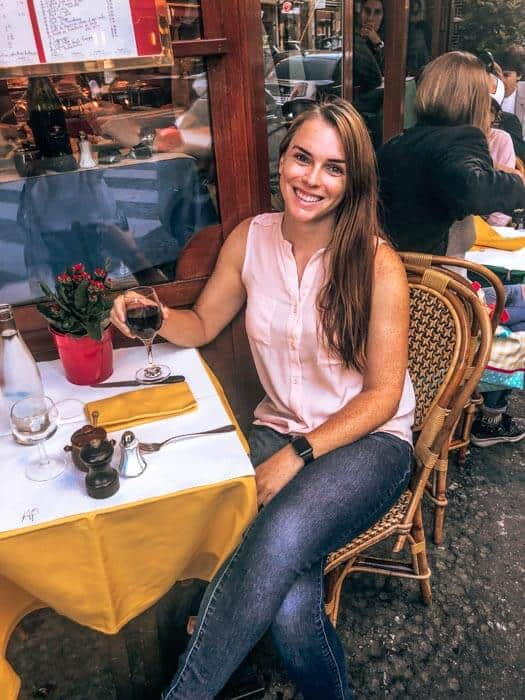 Eating out alone as a solo female traveler