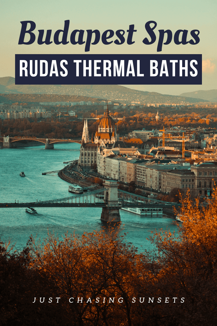 Budapest Spas - The Rudas Baths