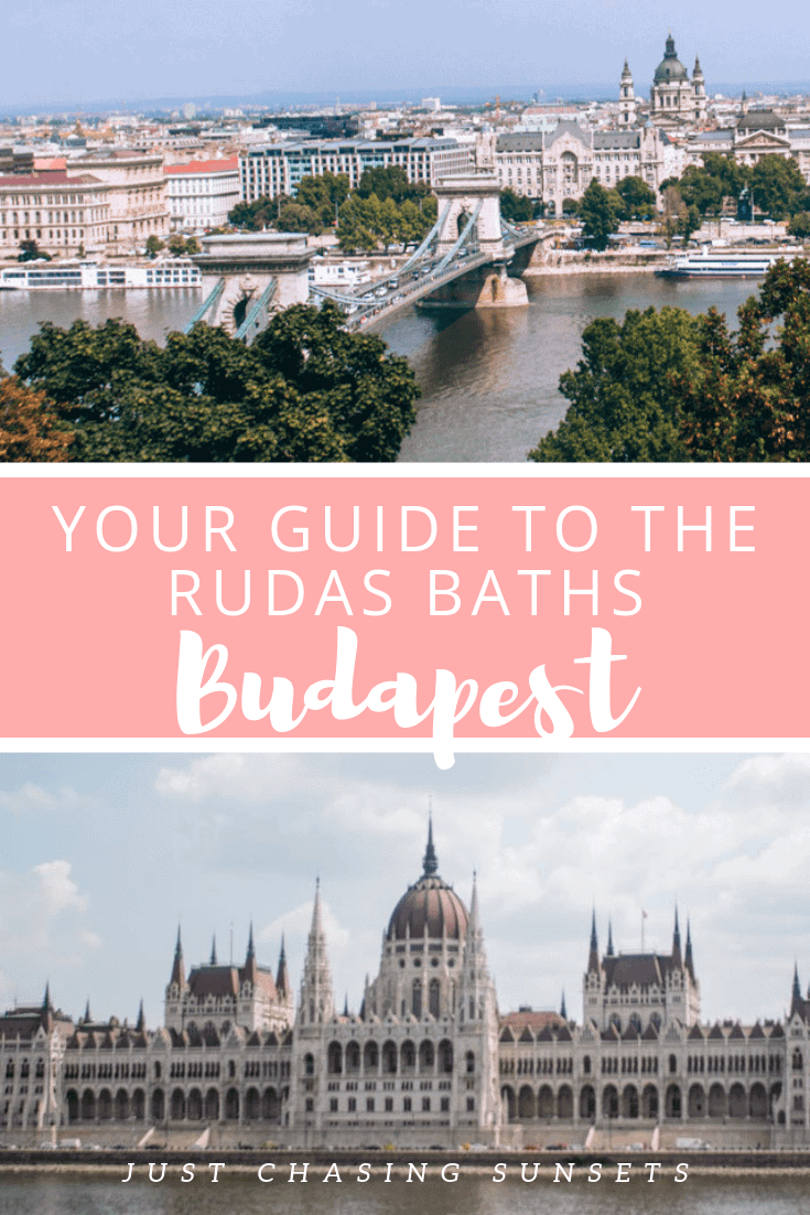 Your guide to visiting the Rudas Baths in Budapest Hungary
