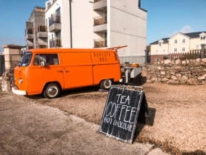 Orange Barista Bus, Galway