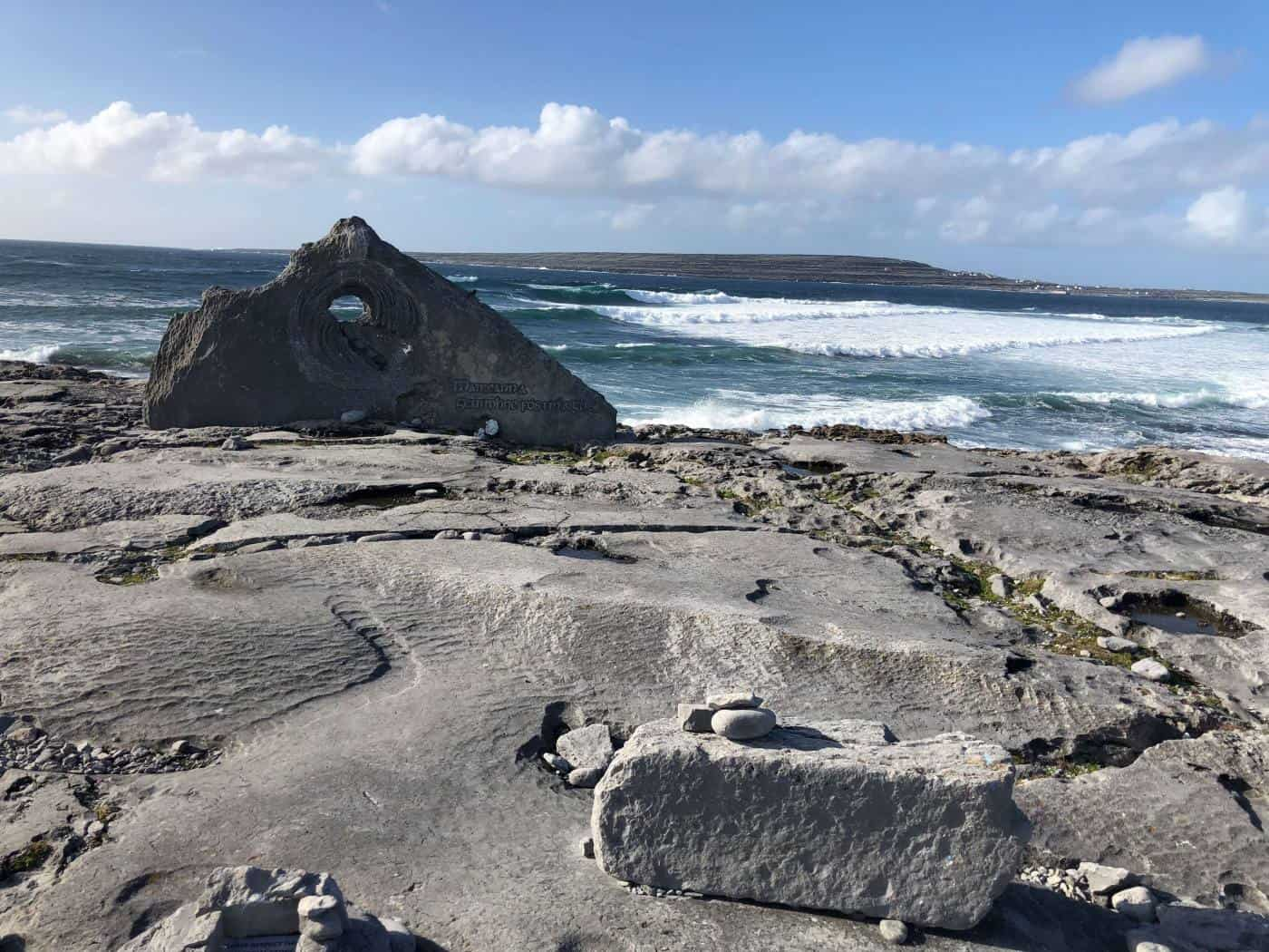 Stone Memorial on Inisheer Island