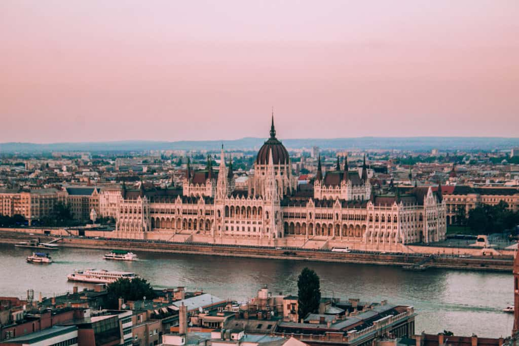 4 days in budapest, hungary