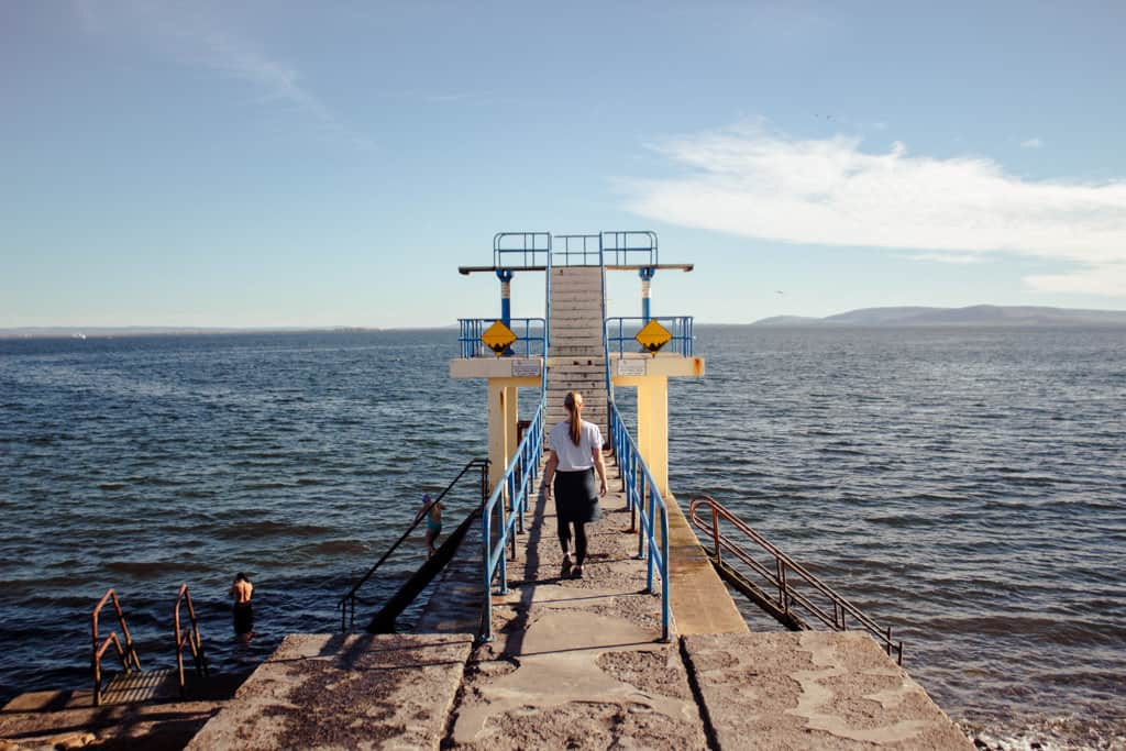 Blackrock Diving Tower and Bathing Area