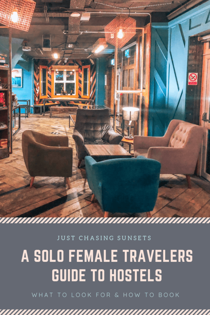 solo female traveler's guide to hostels