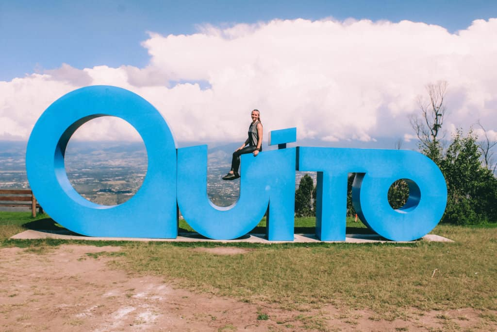 An itinerary for two days in Quito