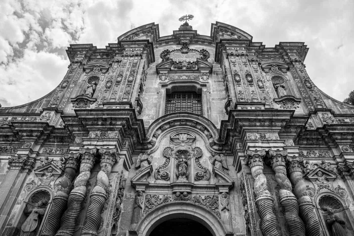 Iglesia de la compania de Jesus is the most famous church in Quito (Ecuador) c/o Deposit Photos