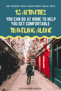 get ready for your first solo travel trip