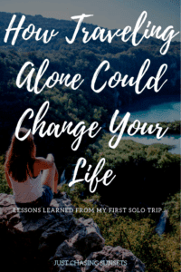 traveling alone could change your life