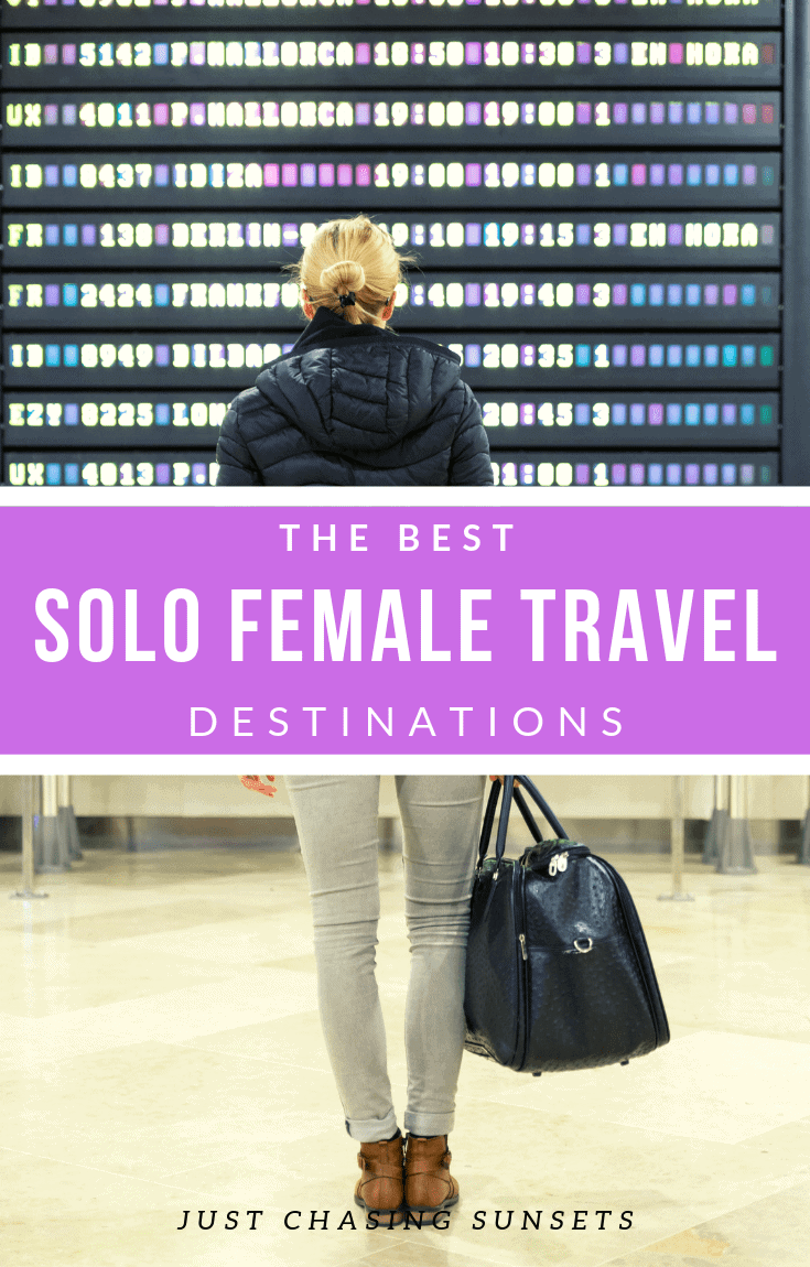 the best solo female travel destinations