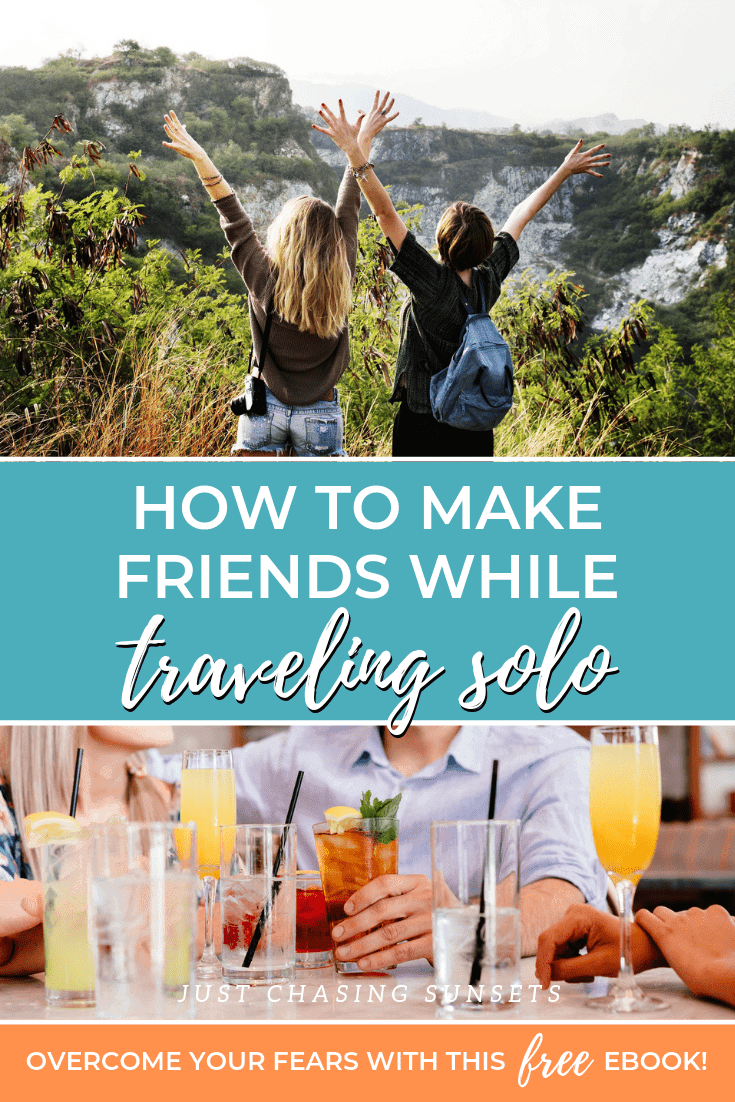 Top tips for how to make friends while traveling solo
