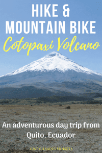 hike & mountain bike Cotopaxi volcano