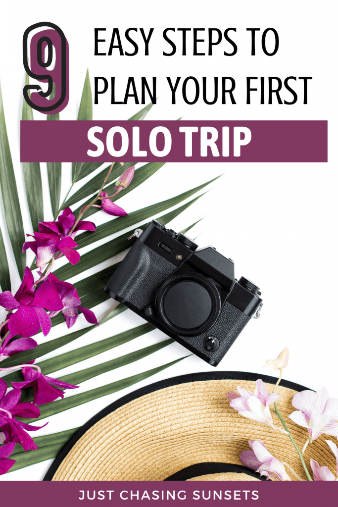 Easy Steps for Planning a Solo Trip
