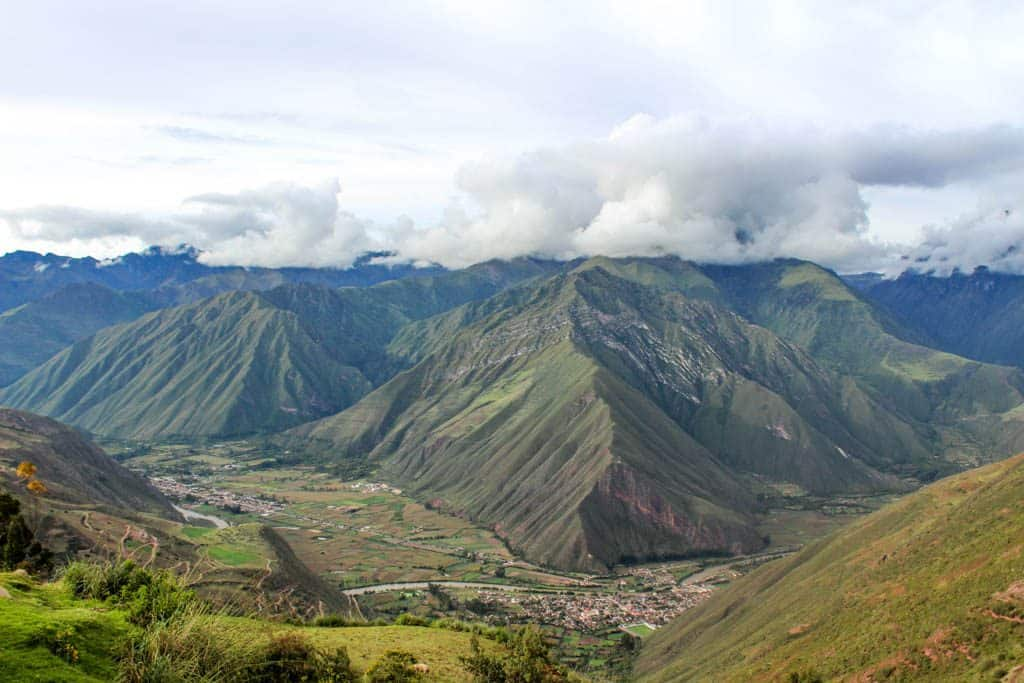 Gorgeous view of the Sacred Valley