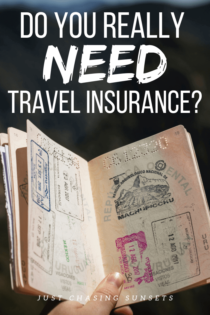 do you really need travel insurance