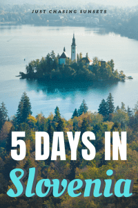 Five Days in Slovenia