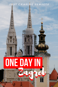 Visit Zagreb, Croatia and see the best things to do with this one day in Zagreb itinerary. See the museum of broken relationships, visit Zagreb cathedral, and eat food on Tkalciceva street.