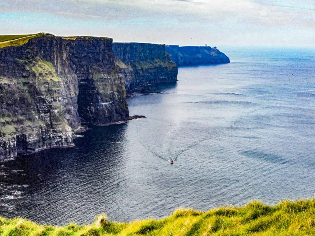 Cliffs of Moher, Ireland by Roxanne