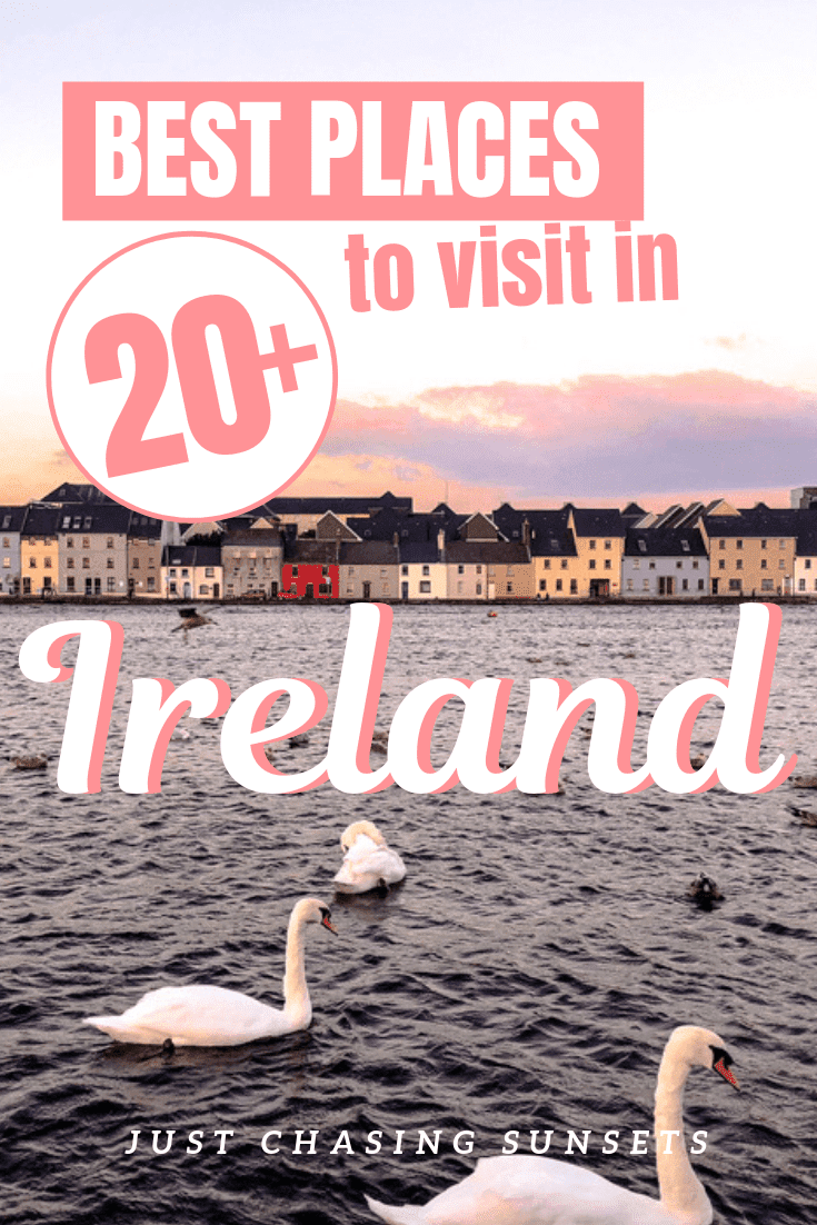 The best places to visit in Ireland. 20 bucket list items to add to your Ireland travel itinerary.