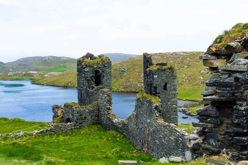 Three Castles, Mizen Peninsula by Christina