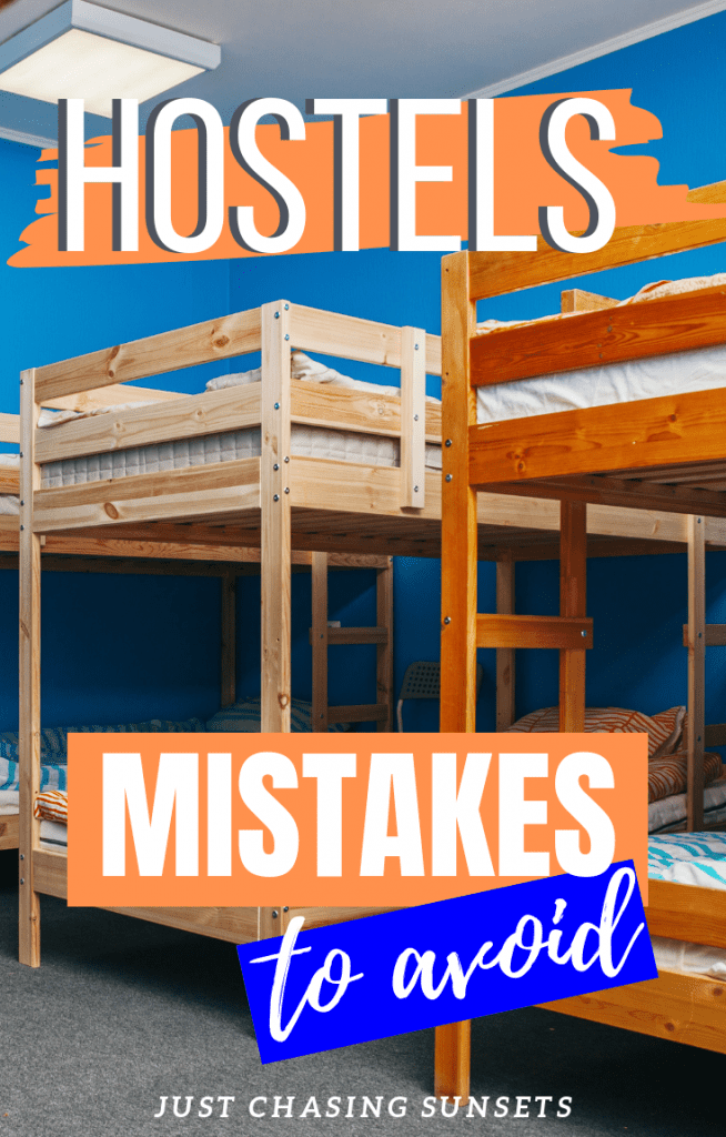 hostel mistakes to avoid