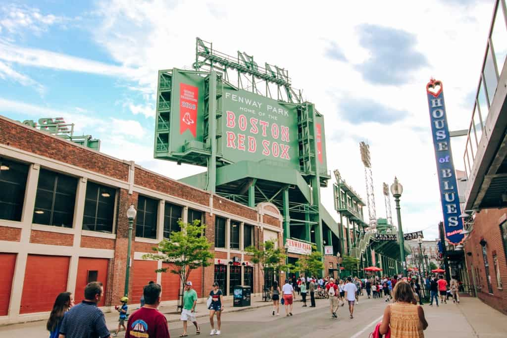 Try to watch a Red Sox Game during your 24 hours in Boston