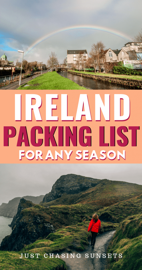 Ireland packing list for any season
