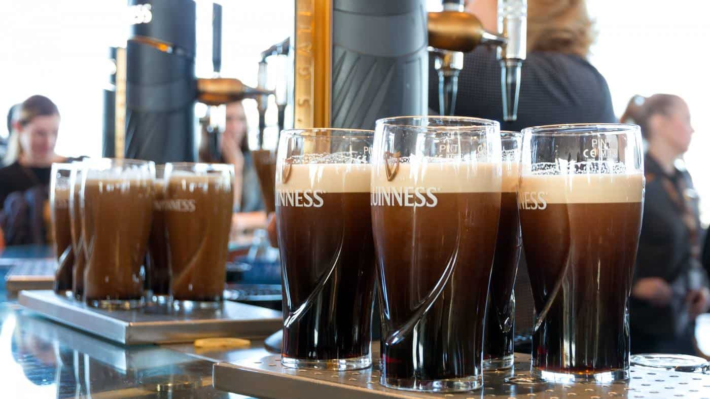 Visit the Guinness Storehouse in Dublin