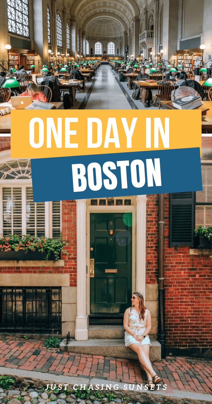 One day in Boston