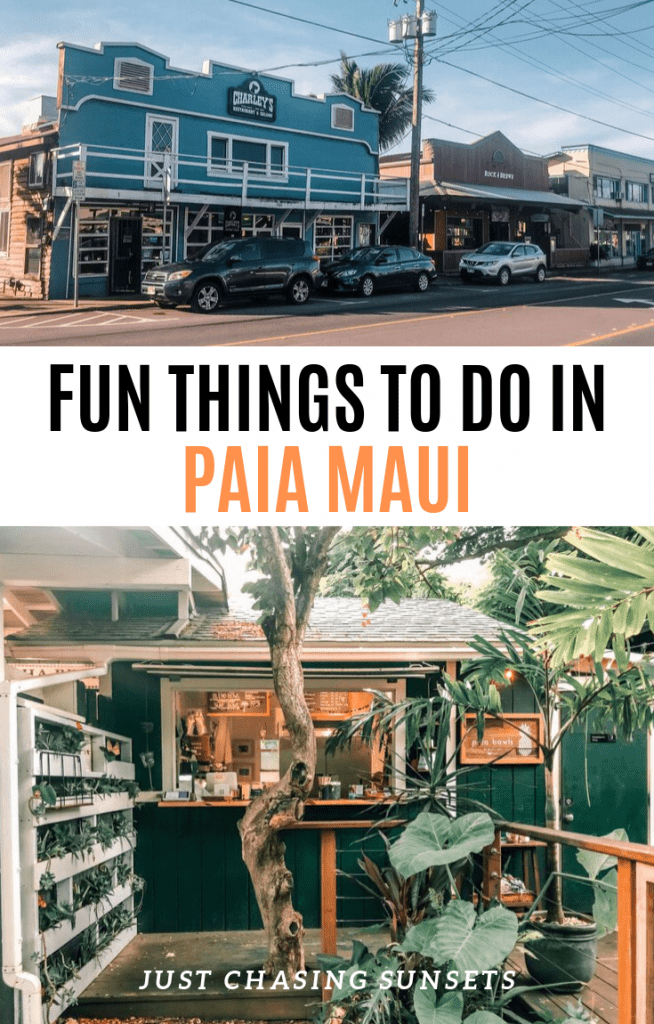 Fun things to do in Paia Maui