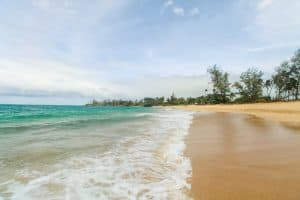 beautiful beach in Paia Bay, Maui