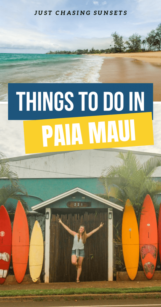 Things to do in Paia Maui