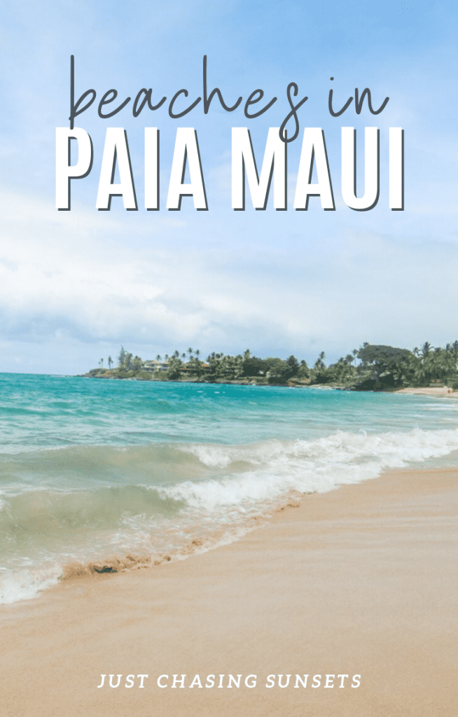 beaches in Paia Maui