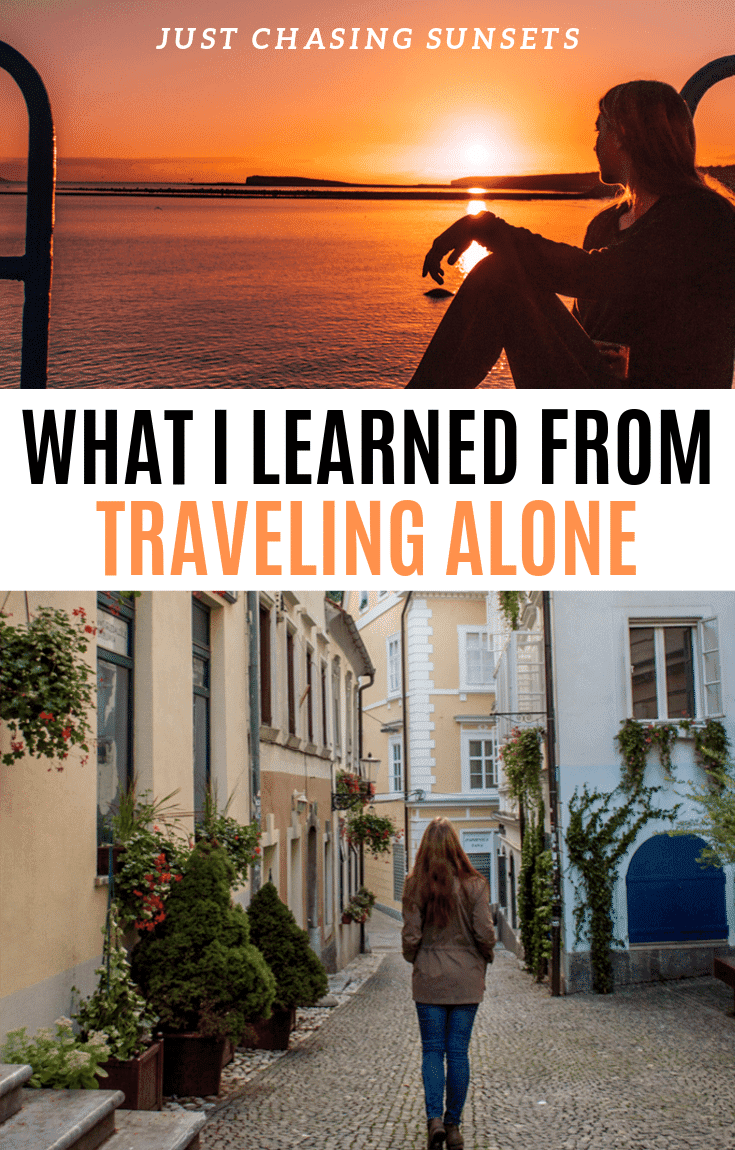 What I learned from traveling alone as a woman