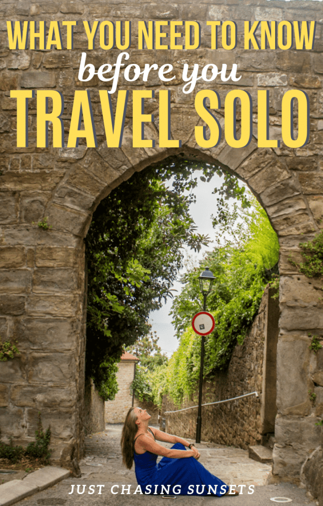 What you need to know before you travel solo