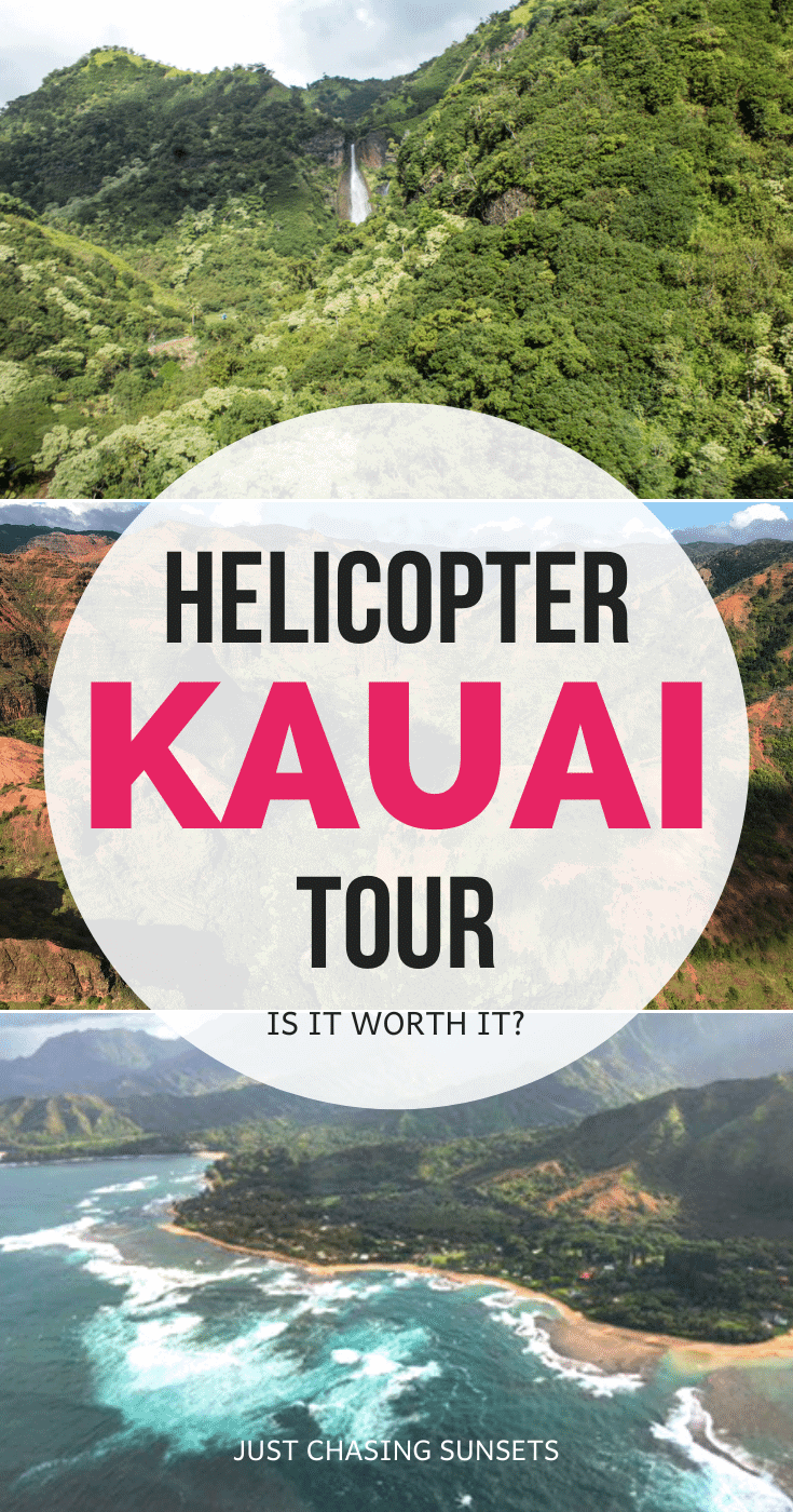 Helicopter Tour Kauai