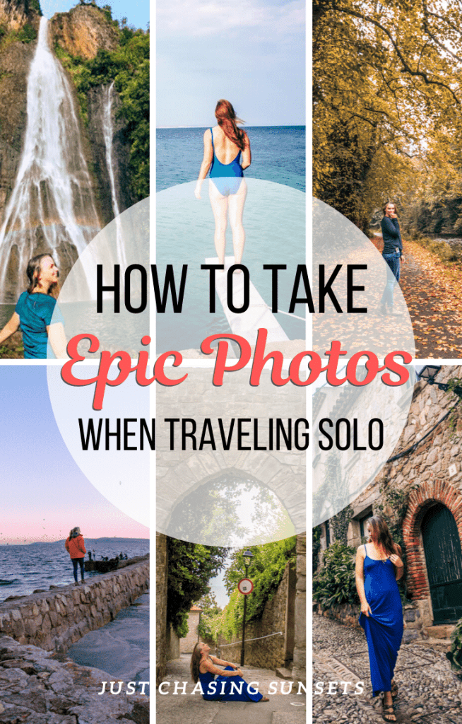 How to take epic photos when traveling solo