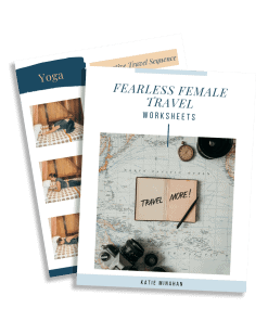 Fearless Female Travel Worksheets