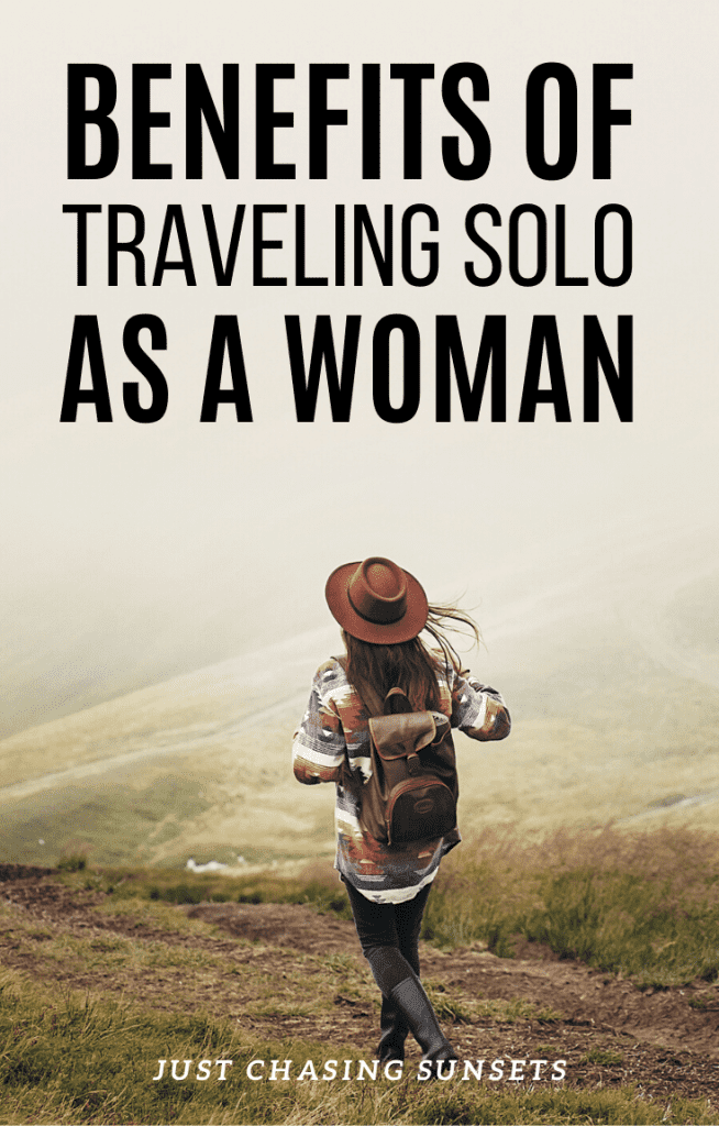 Benefits of traveling solo as a woman