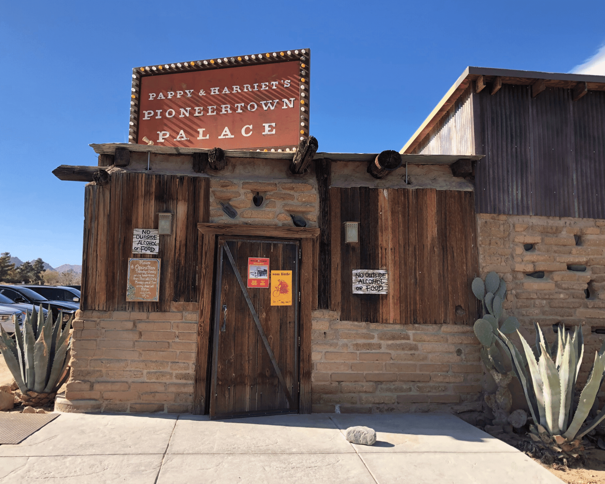 Pappy & Harriet's Restaurant Pioneertown