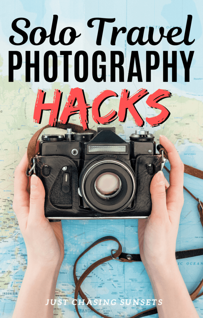 Solo travel photography hacks