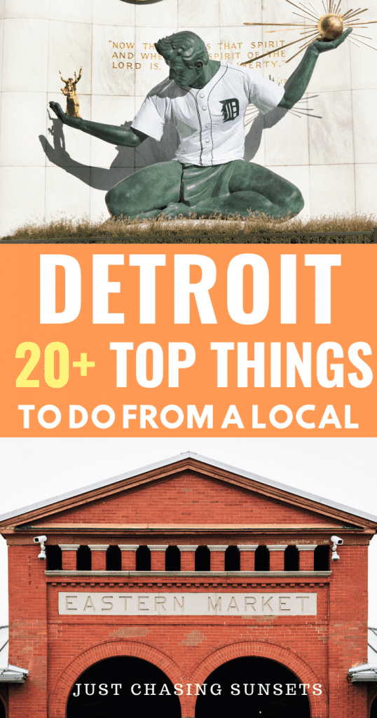 The top 20 things to do in Detroit