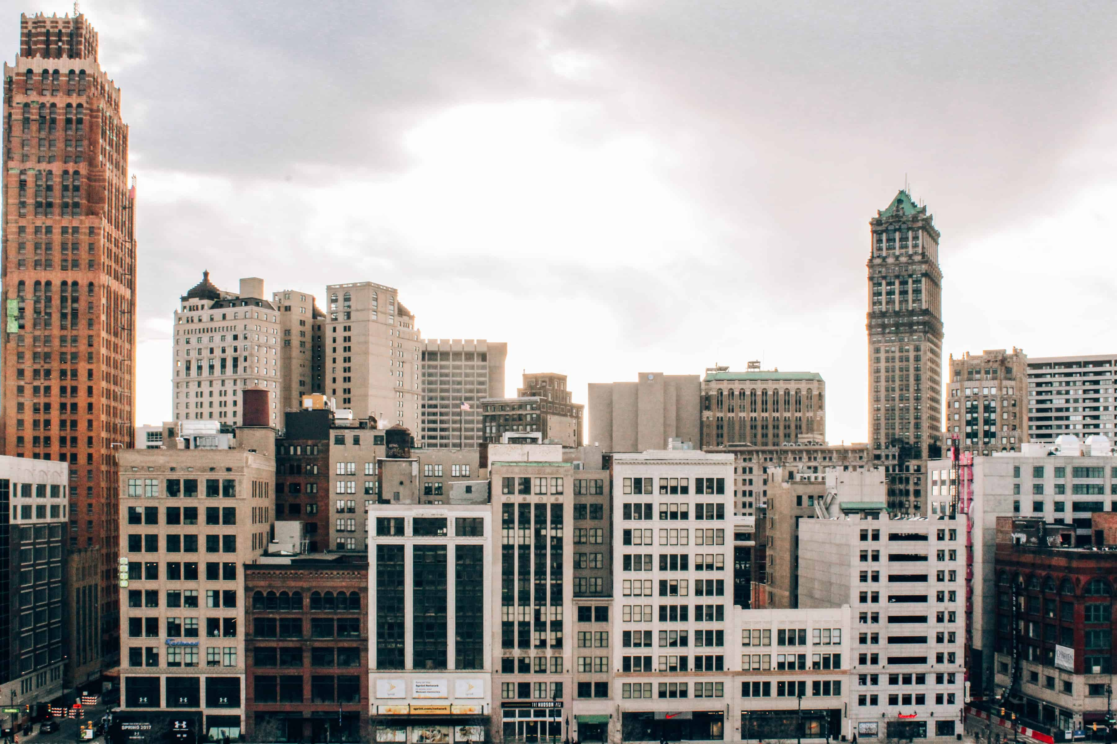 Downtown Detroit Skyline