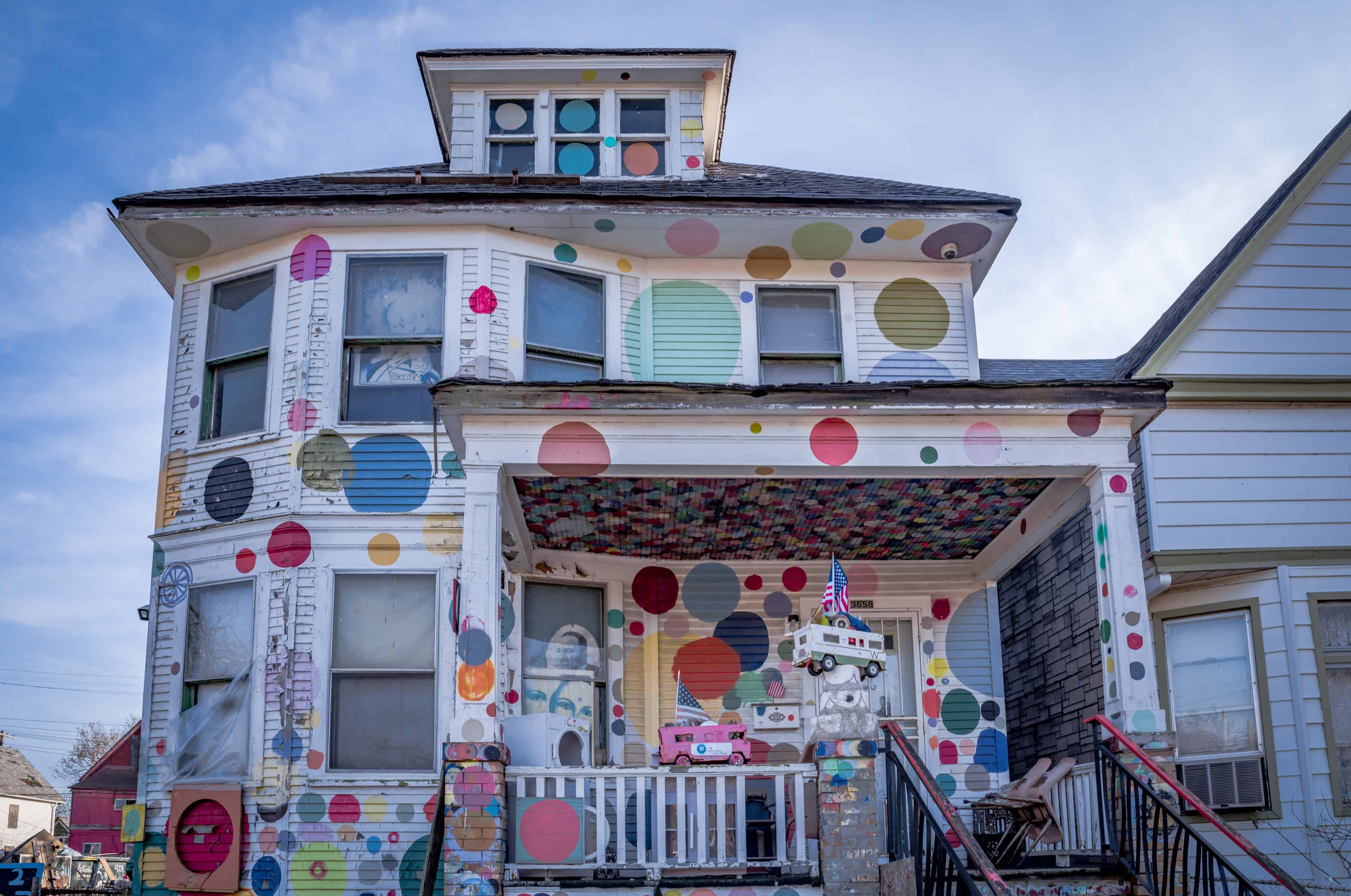The Heidelberg Project in Detroit, Michigan, USA