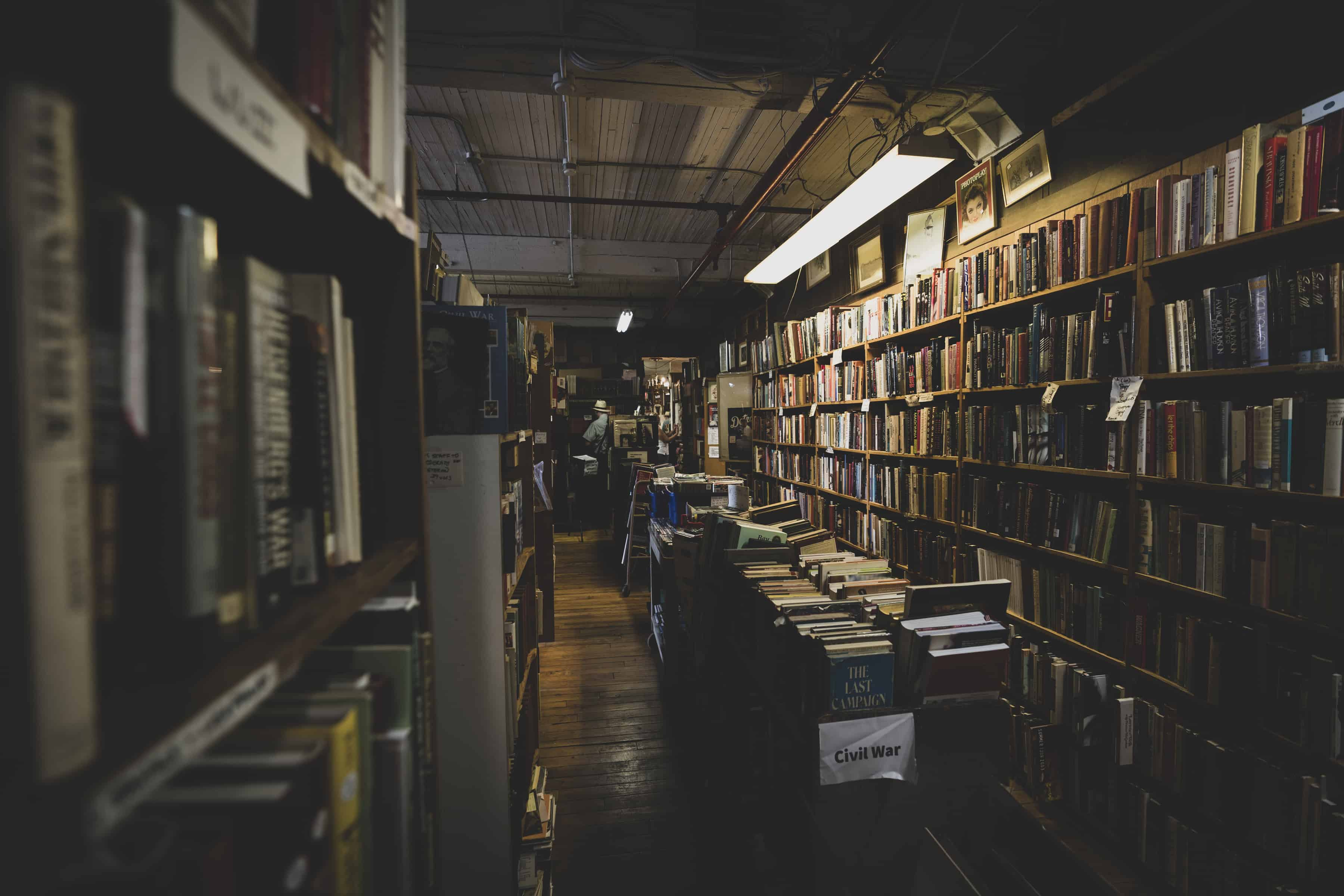 John K. King used and rare bookstore in Detroit, Michigan